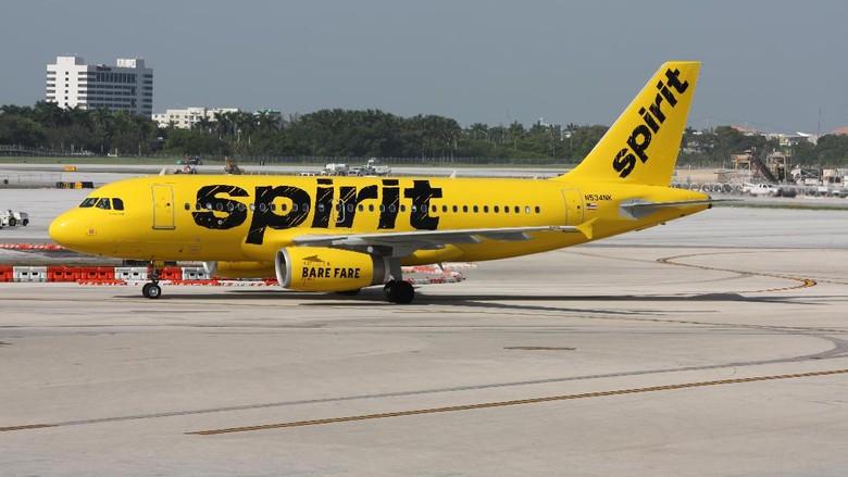 Foto ilustrasi: Spirit Airlines (dok spirit.com)