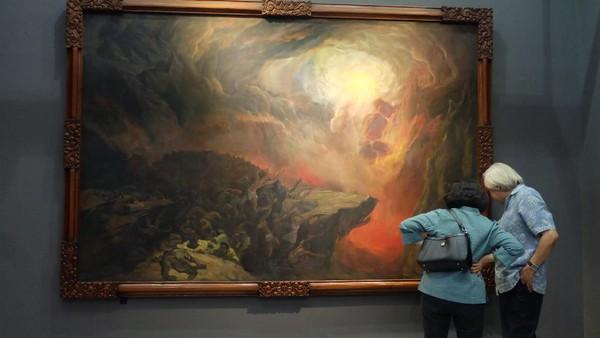 Lukisan Koleksi Istana Kepresidenan yang Dipajang Totalnya Senilai Rp 98 M