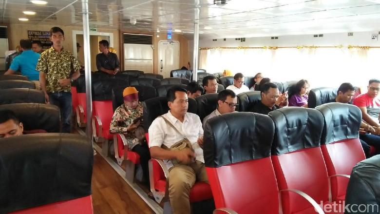 Foto: Berlayar menuju Sabang (Bonauli/detikTravel)