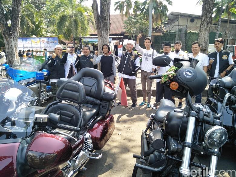 Komunitas Bikers Muslim (Foto: Ruly Kurniawan)