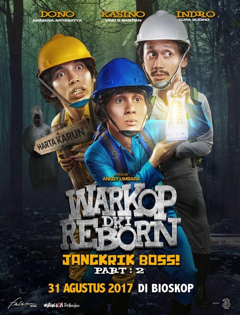 Wuih! Warkop DKI Reborn2 Raih 300 Ribu Penonton di Hari Pertama