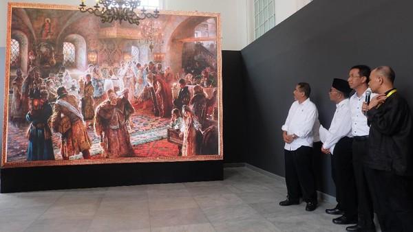Dari 3 Ribu Koleksi Seni Istana Kepresidenan, Hanya 48 Lukisan yang Terseleksi