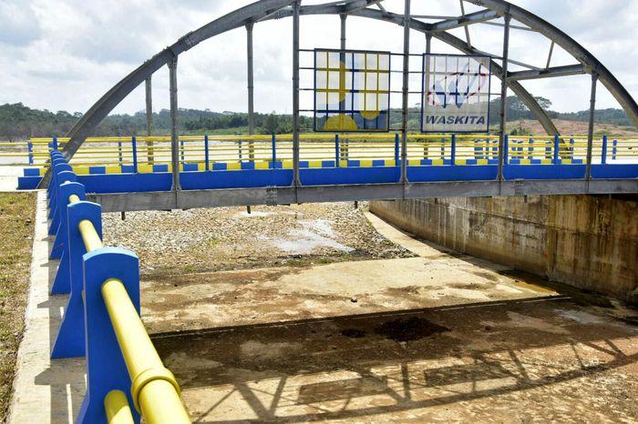 Bendungan Teritip merupakan bagian dari program pemerintah dalam membangun 65 bendungan. Pool/Kementerian PUPR.