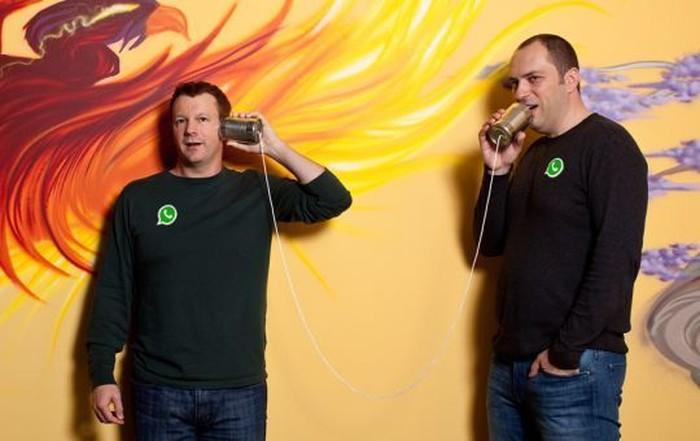 (kiri-kanan) Brian Acton dan Jan Koum (Foto: Istimewa)