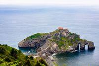 Pulau Gaztelugatxe (Thinkstock)