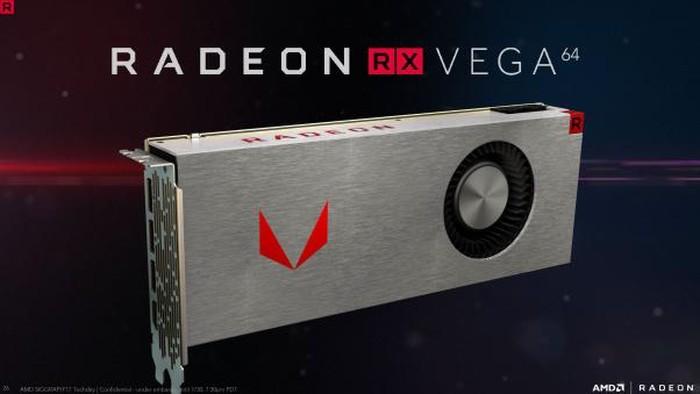 Kartu grafis Radeon Vega. Foto: AMD
