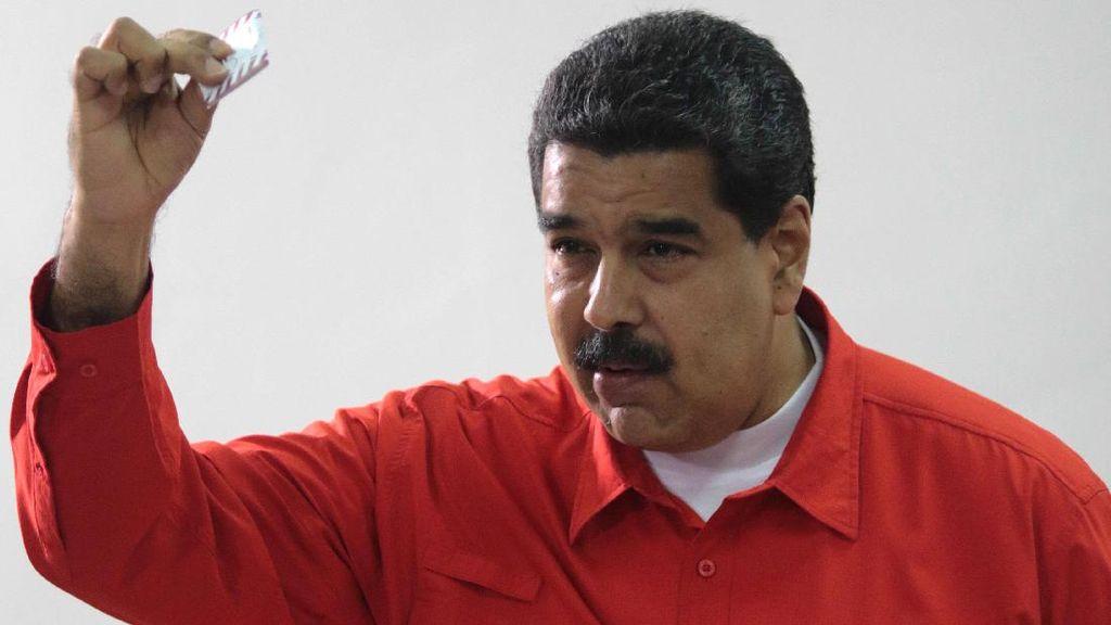 Perburuan Amerika Kejar Presiden Venezuela Gegara Terorisme Narkoba