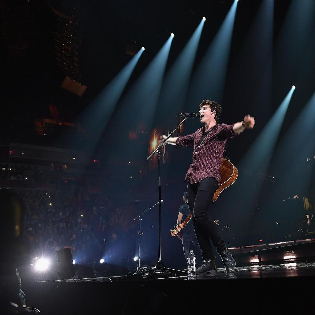 Konser Shawn Mendes Sediakan Area untuk Penonton Berkebutuhan Khusus