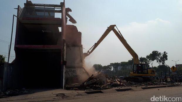 Eksekusi empat bangunan di Jalan Ahmad Yani/