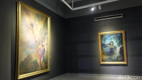 Cerita Lukisan Nyi Roro Kidul di Pameran Lukisan Koleksi Istana Kepresidenan