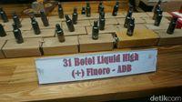 Polisi Ungkap Peredaran Narkoba Liquid High untuk Vape
