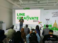 Line Creativate Jadi Wadah Kreator Digital Unjuk Gigi