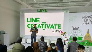 Chatbot Makin Dilirik, Kompetisi Line Creativate Digeber