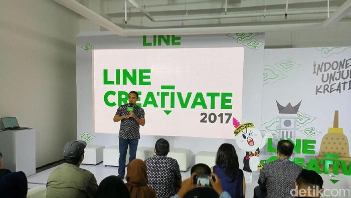 Line Creativate. Foto: detikINET/Muhammad Alif Goenawan