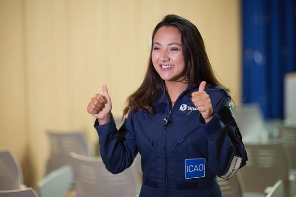 Saat ini Shaesta memiliki misi untuk terbang solo keliling dunia. Rencananya ia akan terbang melintasi 21 negara dan lima benua seorang diri saja (dok ICAO)