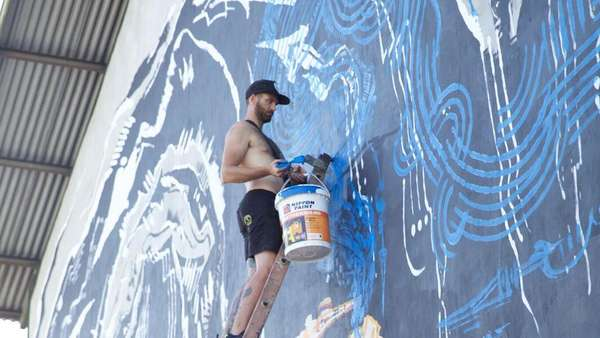 Mural-mural Artistik di Tropica Festival 2017