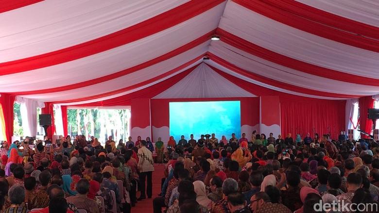 Jokowi Peringati Hari Lingkungan Hidup di KLHK