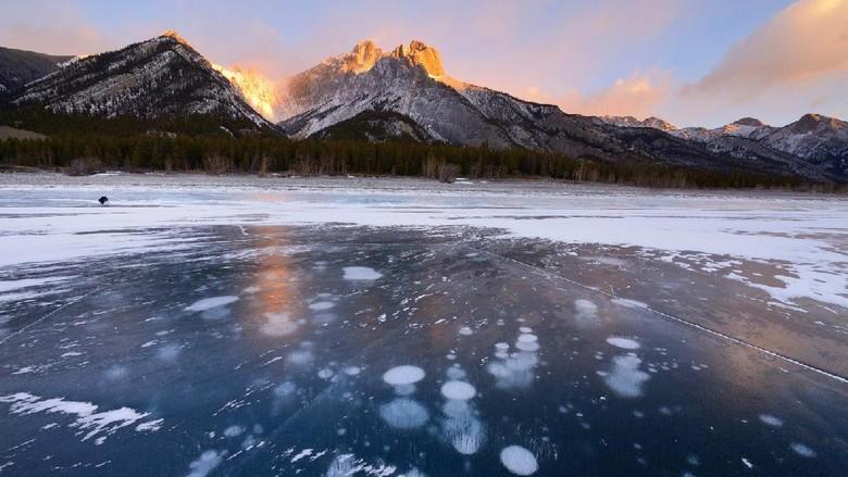 Danau Abraham di Kanada (Thinkstock)