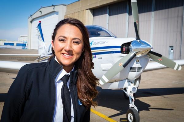 Shaesta juga menjadi pilot wanita Afghanistan pertama. Ia pun menunggangi pesawat Beechcraft Bonanza A36 (dok ICAO)