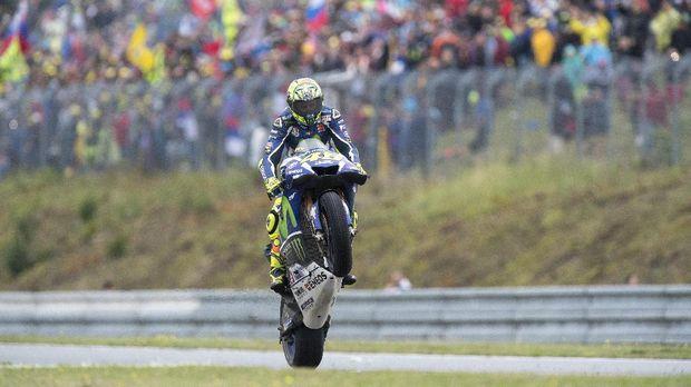 Senja yang Tak Indah untuk Valentino Rossi dan MotoGP