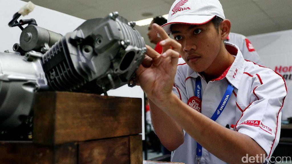 Honda Gelar Kompetisi Teknik Sepeda Motor