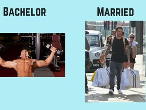 7 Foto Lucu Ini Gambarkan Bedanya Hidup Pria Sebelum dan Setelah Menikah