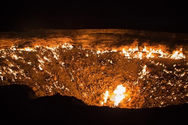 Walaupun gagal jadi daerah tambang, tempat ini kemudian menjadi destinasi wisata. Pemandangan yang bikin merinding menjadi magnet untuk wisatawan (Thinkstock)