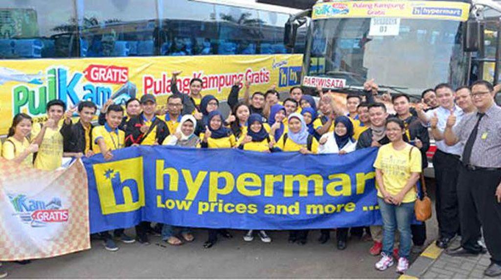 Rugi Rp 189 Miliar, Bos-bos Hypermart Sukarela Potong Gaji