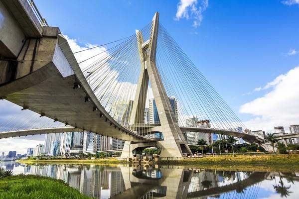 Terbang ke Brasil, ada Kota Sao Paulo yang menempati peringkat ke-36 sebagai kota tersehat. Foto: (Dok. Thinkstock)