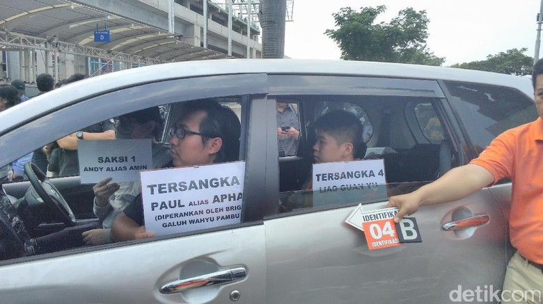 Polisi Gelar Rekonstruksi Penyelundupan 1 Ton Sabu dari Taiwan