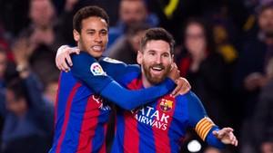 Messi: Neymar Tak Umumkan Kepergiannya di Hari Pernikahanku