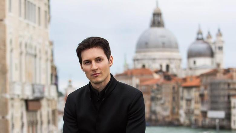 Foto: Bos ganteng Telegram, Pavel Durov yang gemar traveling (Instagram/Pavel Durov)