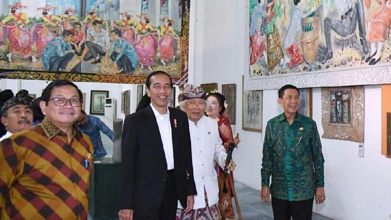 Pesan I Nyoman Gunarsa yang Tersampaikan pada Jokowi
