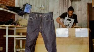 Modal Rp 300.000, Pria Ini Bisnis Jeans Beromzet Rp 300 Juta/Bulan