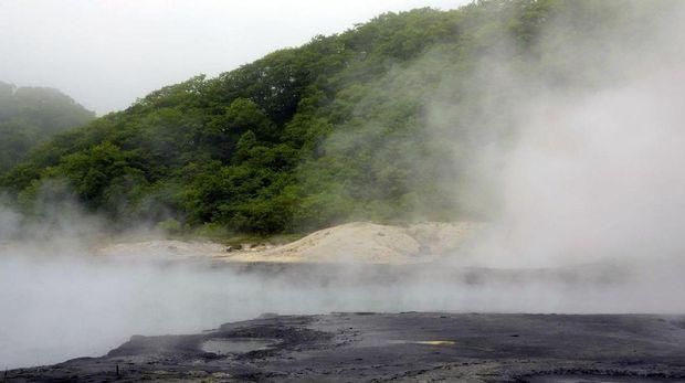Pemandian air panas dipercaya jadi rahasia umur panjang