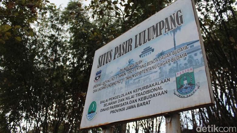 Situs Pasir Lulumpang (Hakim Ghani/detikTravel)