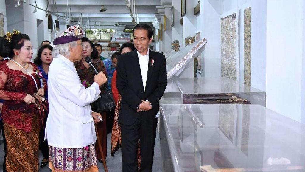 Jokowi Heran Kebiasaan Minum Jamunya Diketahui I Nyoman Gunarsa
