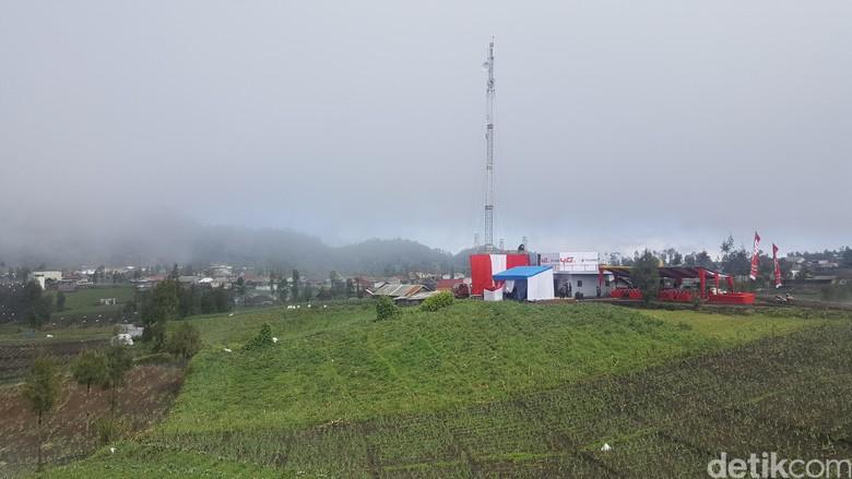Jaringan 4G Telkomsel Masuk di Kaki Semeru, ini Kata BB TNBTS