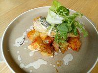Creamy Mushroom Dijon Chicken. Foto: Lusiana Mustinda/detikFood