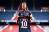 Neymar yang kini masuk dalam clun PSG.