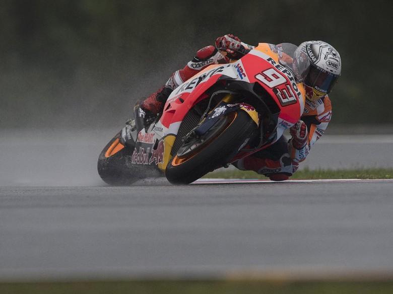 Marquez Start Terdepan, Rossi Kedua