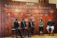 Para juri di Indonesian Culinary Journey 2017
