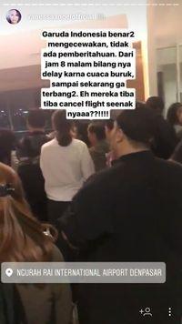 Penerbangan Denpasar-Jakarta delay.