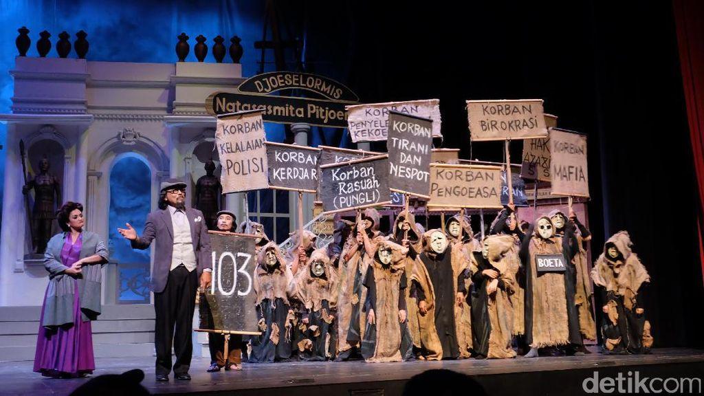 Teater Koma Tak Koma Dicekik Orde Baru