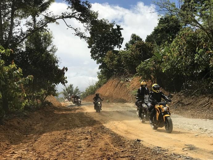 Foto: Moge Honda Jelajahi Bumi Sulawesi