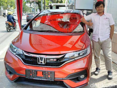 Honda Jazz di Makassar