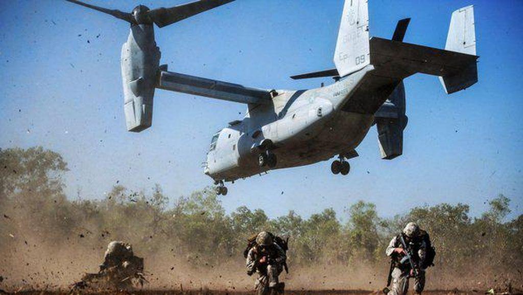 Spesifikasi Canggih Pesawat MV-22 Osprey AS yang Bakal Dibeli RI