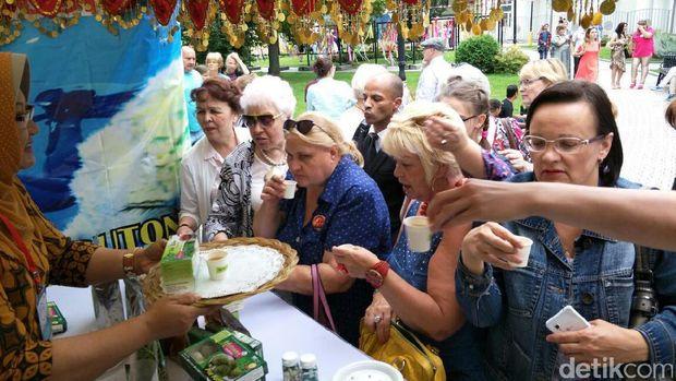 Kelor mendunia di Festival Indonesia di Moskow /