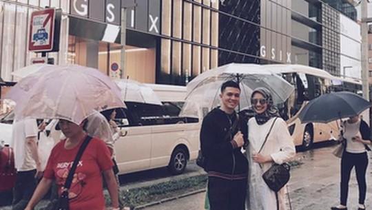So Sweet! Intip Zaskia Sungkar Libur Berduaan ke Jepang Bareng Irwansyah