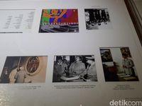 Tulisan kecil tentang kecintaan Soekarno pada seni (Randy/detikTravel)